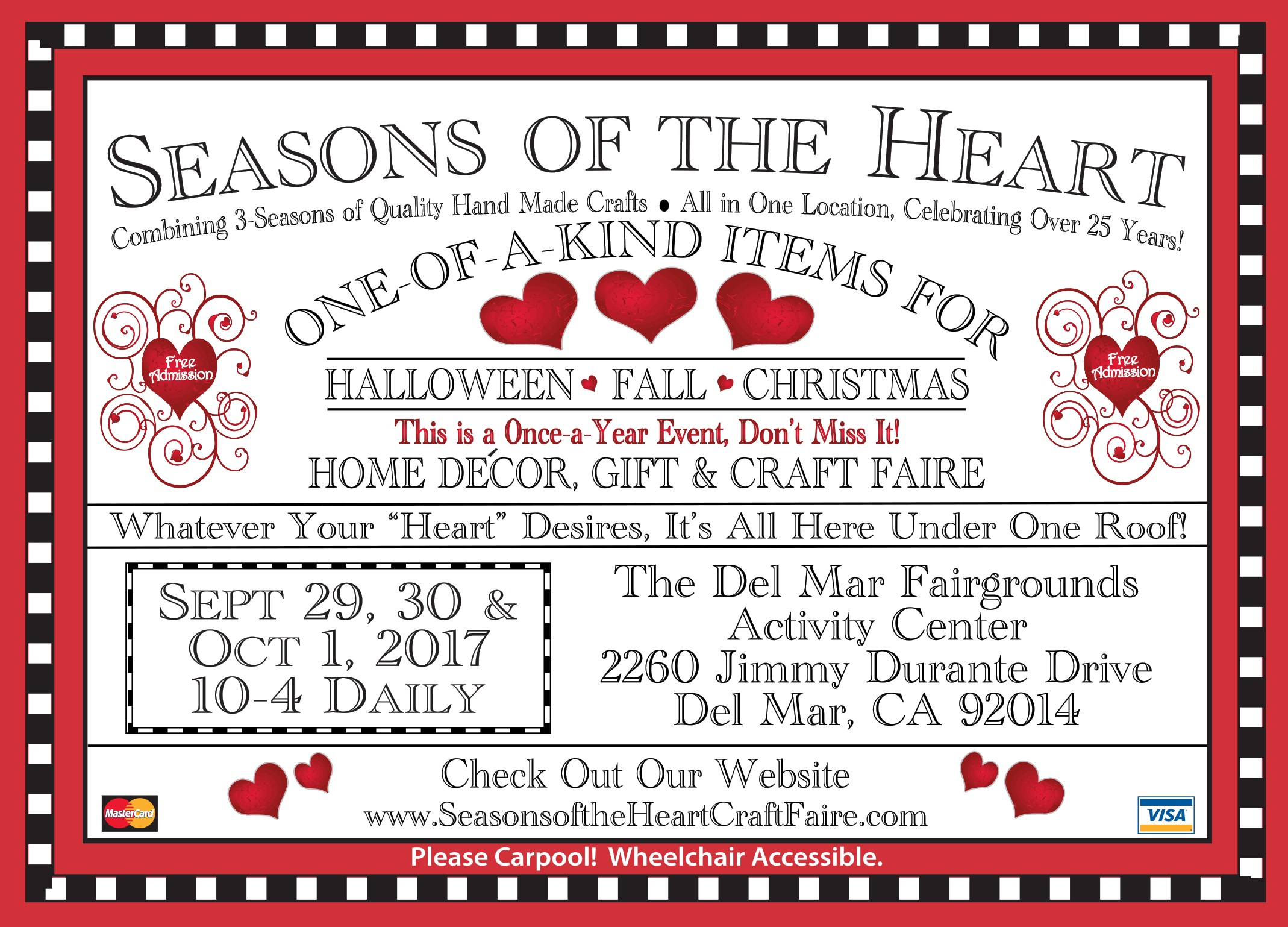 dates and directions - Del Mar Fair Halloween